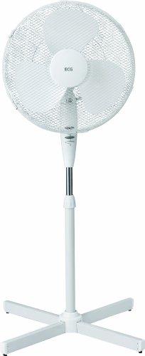 ECG Fan 50 W Standtventilator, weiß, FS40
