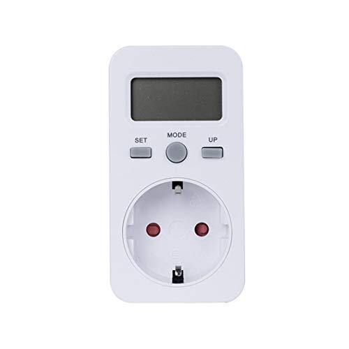 LouiseEvel215 KWE-PMB03 Steckdose Digital Voltage Wattmeter Leistungsaufnahme Watt Energy Meter AC Stromanalysator Monitor -
