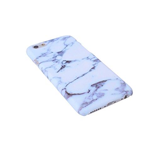 """iPhone 7 Coque , YIGA Motif Marbre Naturel Jaunâtre PC Plastique Dur Hard Bumper Case Cover Housse Etui pour Apple iPhone 7 4.7"""" A-7PL-PC-HD9"""