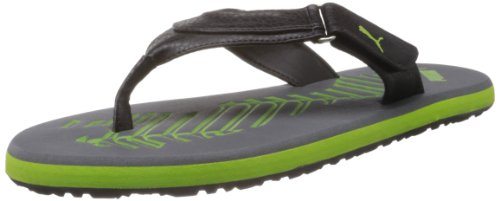 Puma Men's Breeze 4 Ind Grey Flip Flops and House Slippers - 6 UK/India (39 EU)  available at amazon for Rs.895