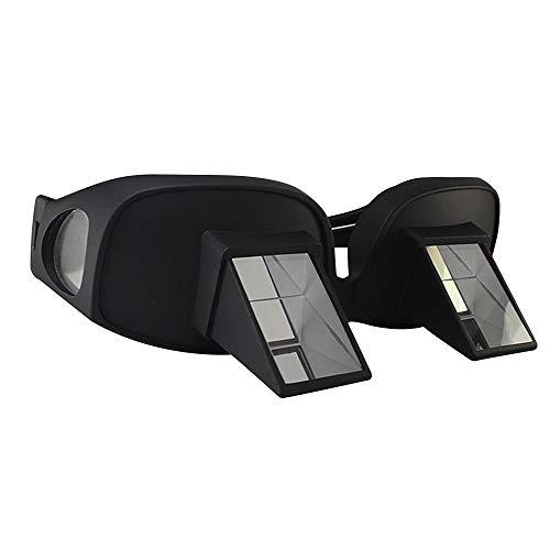 Fashion Brille Kreative bequeme hochauflösende horizontale Loon-Periskop-Brechungsgläser Bett-Prisma-Brillen Lesen, Fernsehen und Computer Faule Gläser mittlerer Größe Sonnenbrille im Freienreisender