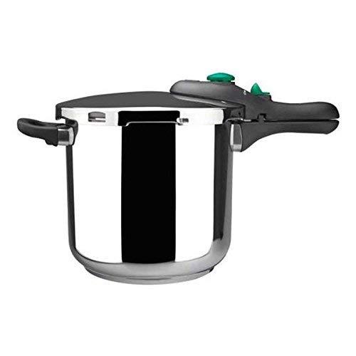 MAGEFESA Dynamic Olla a presión Super rápida de fácil Uso, Acero Inoxidable 18/10, Apta para Todo Tipo de cocinas, Incluido inducción (7,5L)
