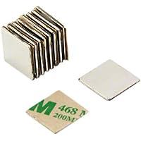 pack de 10 1,1kg force dadh/érence Magnet Expert/® 15mm diam/ètre x 1mm N42 n/éodyme aimant