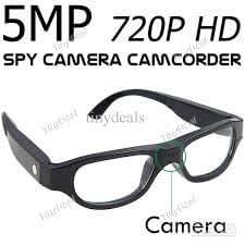 Hamtone Full HD 720P Glasses Eyewear Spectacles Spy Camera Full Frame Hidden Cam Video Camcorder - Black