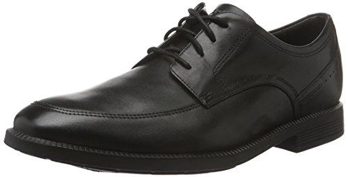 Rockport Herren DP Modern Apron Toe Derby, Schwarz (Black), 40.5 EU
