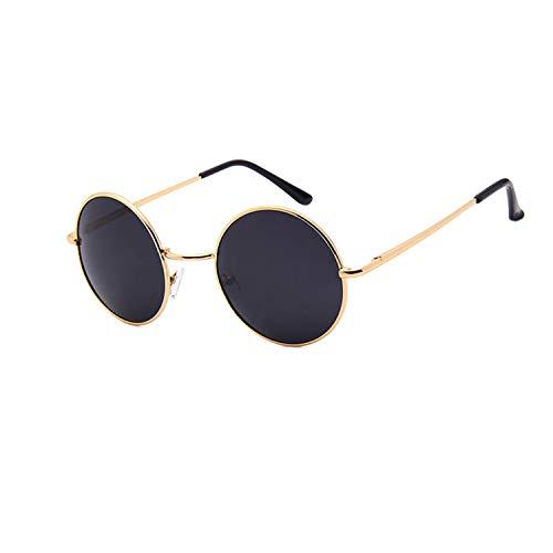 BENatural-UK Vintage Herren Sonnenbrille Toad Linse polarisiert Metall Rahmen Runde Sonnenbrille UV400 Federbeine Retro Brille Gr. Einheitsgröße, Nr.3