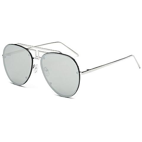 Elegant Luxurious Sunglasses Women Men Aviator Sunglasses Ladies Sunglasses Brand Designer Women (Hip Hop Mode Sonnenbrillen)