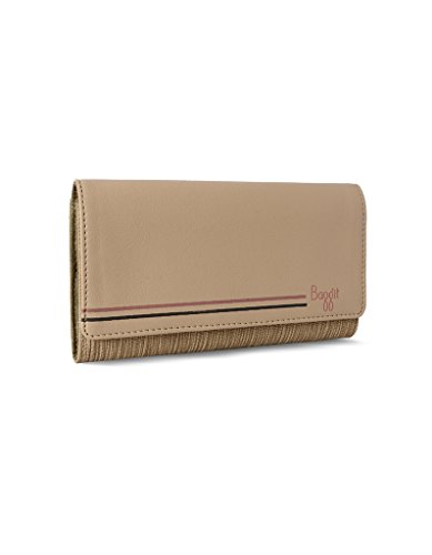 Baggit Lw Candela Lush Beige Women's Wallet (8903414576654)  available at amazon for Rs.1125