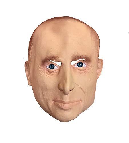 Politiker Kostüm - shoperama Latex-Maske Vladimir Putin russischer Präsident Politiker Russland