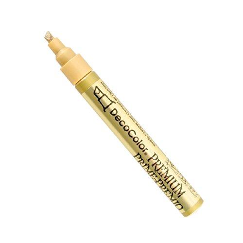 Unbekannt Uchida verschiedenen DecoColor Premium Meißel Paint Marker-Gold (Decocolor Marker Paint)