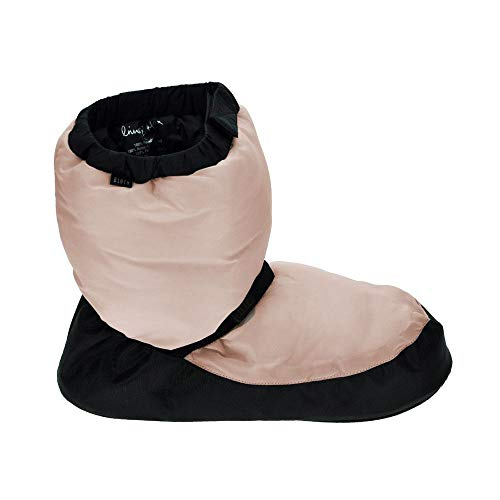 Bloch im009k candy pink warm up booty large child