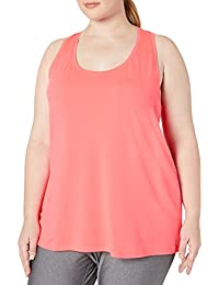 Amazon Essentials Plus Size Tech Stretch Racerback Tank Top - fashion-t-shirts Mujer