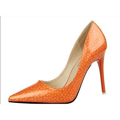 Moda Donna Sandali Sexy donna tacchi tacchi estate pu Casual Stiletto Heel altri rosa / rosso / grigio / fucsia / mandorla arancio / Altri gray