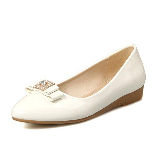 Version coréenne dans les quartiers de printemps et d'été/Strass arc tête légères shoes/nain avec des chaussures de femmes enceintes B