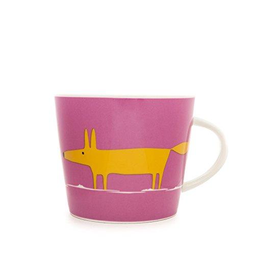 Scion Mr Fox Mug, 0.35L - Rose et Orange