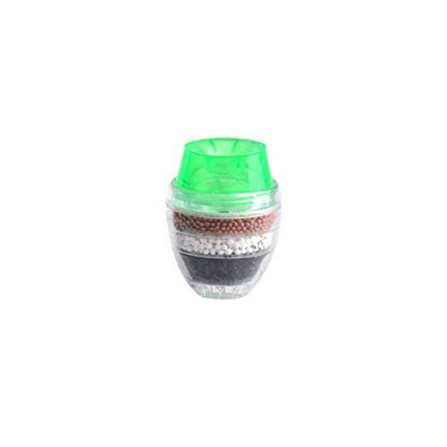 Leoie Home Wasserreiniger, Aktivkohle-Filter, 5 Schichten grün (Rv-wasser-filter-5)
