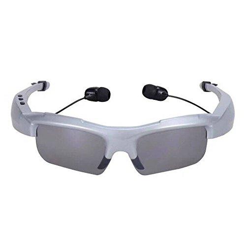 Naturazy Vidrios solares de los Auriculares Bluetooth del cocheDeportes Bluetooth Auriculares Auriculares...