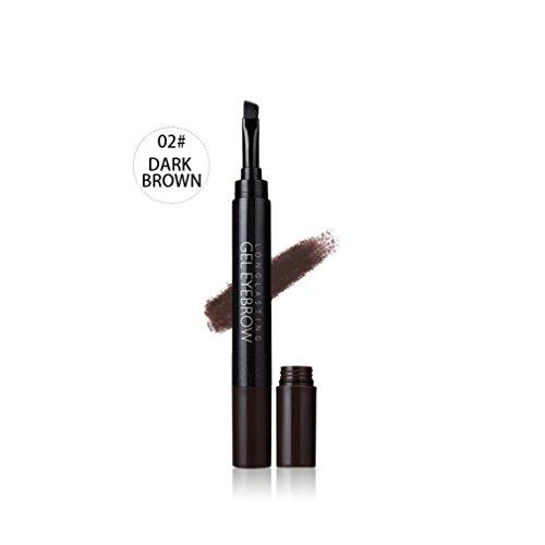 Beauté Top ImperméAble à L'Eau Sourcils Crayon CrèMe Teinture CosméTique Maquillage Longue DuréE Sourcil (A)