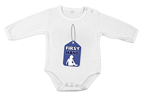 Baby Newborn Clothing Long sleeve Romper Tag First hand funny print Boy 12M