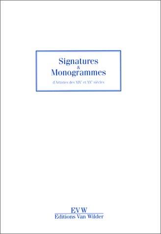 Descargar Libro Signatures et monogrammes de Anonyme