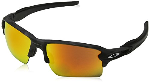 Oakley Herren Flak 2.0 Xl 918886 Sonnenbrille, Schwarz (Black Camo/Prizmruby), 59