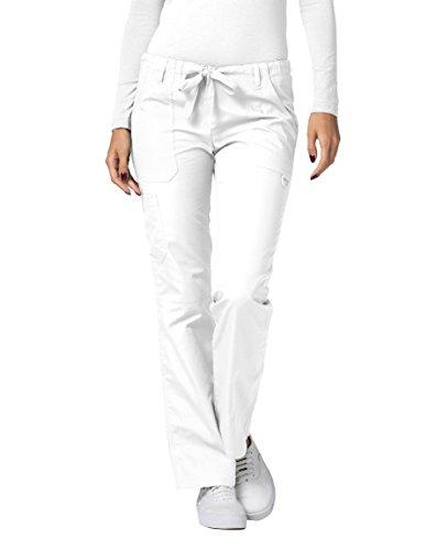 Pantaloni Camice Medico - Pantaloni da Donna Uniforme Ospedale - 510P Colore: WHT | Dimensione: S