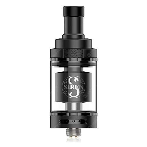 Siren V2 24mm (4.5ml) Atomizzatore Mtl Digiflavor Nero