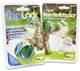 Taplock Garden / outdoor tap locking device with Tap Handle adaptor kitng water and stopping unauthorized users of your water