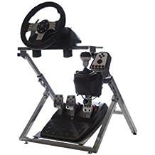 GTR GS Soporte de volante - simulador de Carreras con volante, pedal, y cambio de soporte
