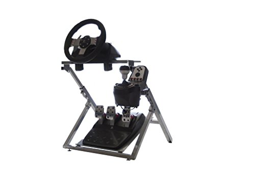 Preisvergleich Produktbild GTR GS Model Steering Wheel Stand - Racing Simulator Cockpit Gaming Stand with Steering Wheel, Pedal, and Shifter Holder