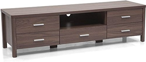 Urban Ladder Norland TV Unit (Dark Walnut)