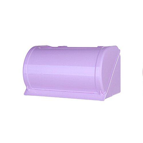 Durable Telefon (Durable Toilettenpapierhalter HOME Regal Badezimmer Kunststoff Telefon Gewebe Wand Storage Rack violett)