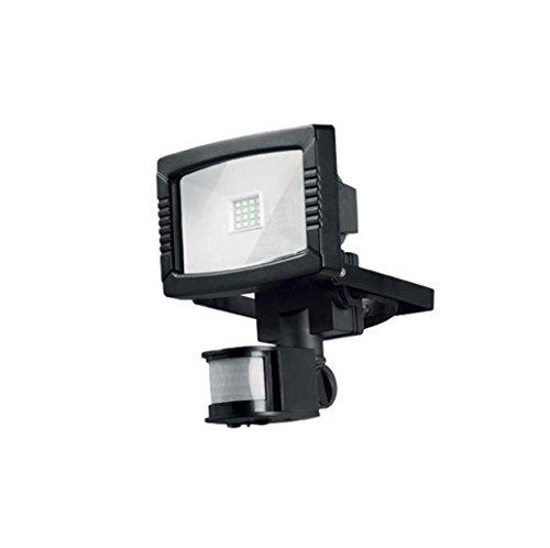 Projecteur extérieur à LEDS 8,5W Detecteur Mouvement IP44 180° - Noir - 501
