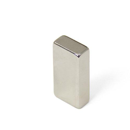 Magnet Expert® 20 x 10 x 40mm N42 néodyme aimant, 11,2kg force d'adhérence, pack de 1