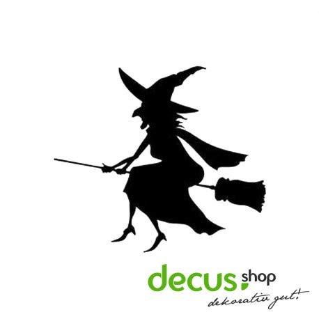 Decus Pegatina de Halloween con Bruja