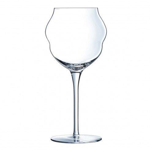 Verre à vin en Cristallin 40 cl Macaron - Vendu par 6