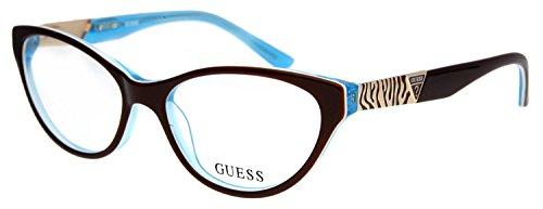 Guess Damen Brillengestell Braun GU2351-BRN-53