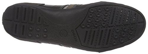 Geox U HOUSTON A, Sneakers basses hommes Multicolore (C9355)
