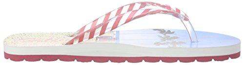 Tommy HilfigerM3285ARLOW 5D-2 - Scarpe da Spiaggia e Piscina Bambina Multicolore (Mehrfarbig (SURF PRINT 943))