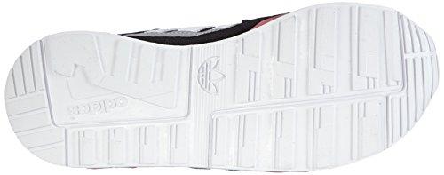 Adidas M19741, Running Fille Multicolore (Cblack/Ftwwht/Vispnk)