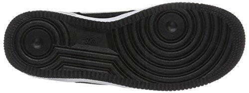 Nike Air Force 1 (Gs), Scarpe da Basket Bambino Nero (Black/White)