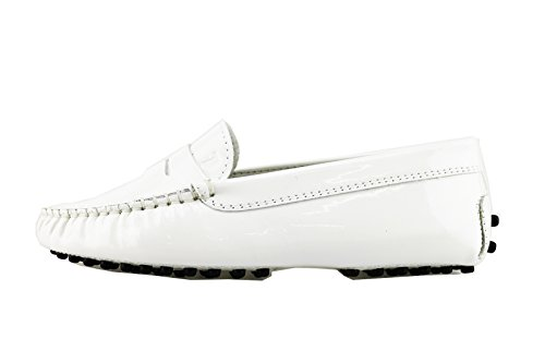tods-junior-mocasines-chico-blanco-cuero-de-ante-ag105-32-eu