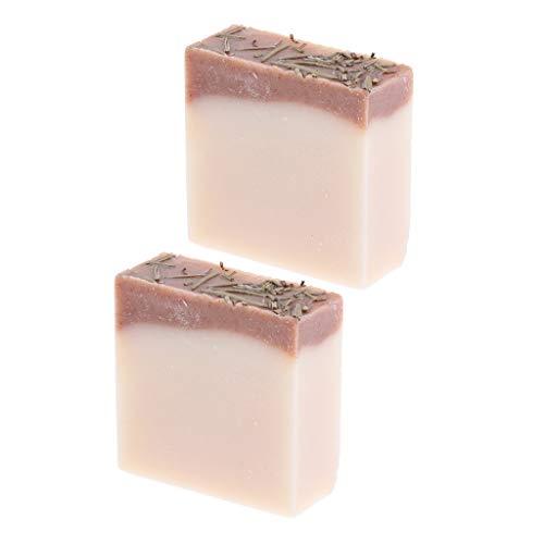 FLAMEER 2 Stück Haarwaschseife Feste Shampoo Seife Haarseife für fettiges und feines Haar