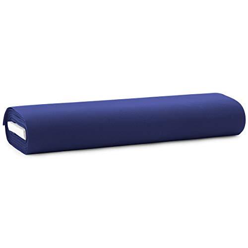 Carillo Tessuto per Tende da Sole al Metro Alpi 140 cm Trattamento Impermeabile R030 Blu