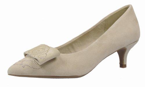 Tamaris 22306-22 Damen Pumps Leder, Sand, Größe 41