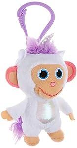 Joy Toy 31056 Wonderpark Wunderaffen - Peluche de Unicornio con Clip (8 cm), Multicolor