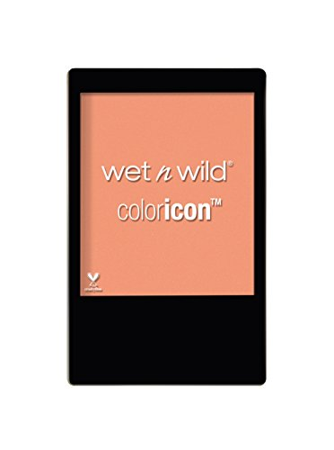 WET N WILD - COLOR ICON BLUSH - Texture soyeuse confortable & pigmentée - Teinte Apri-cot in the middle - Made in US - 100% Cruelty Free
