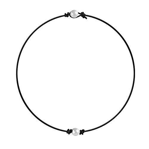 Pearl Choker - Soleebee Perlen Choker Halskette Mode Damen