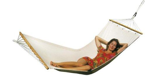 Amazonas EL-1060100 Tobago - Hamaca, tela, algodón (200 x 80 cm, resistencia:...
