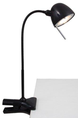 Naeve Leuchten 407922 - Flexo escritorio pinza metal